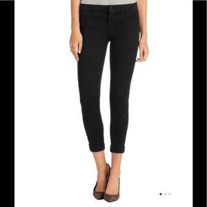J Brand Anja mid-rise cuffed cropped skinny pants